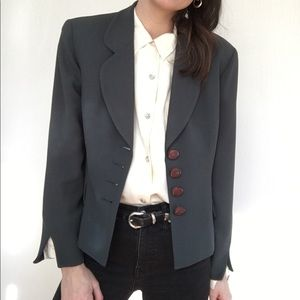 Vintage Christian Dior tailored blazer
